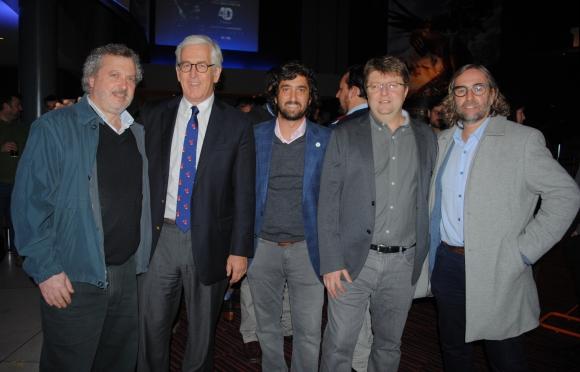 Carlos Parodi, Horacio Artagaveytia, Martín Rupenian, Gabriel Castarés, Carlos Scheck.