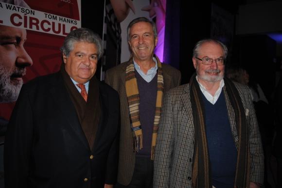 Carlos Ramela, Gervasio Reyes, Oscar Cordazoli.