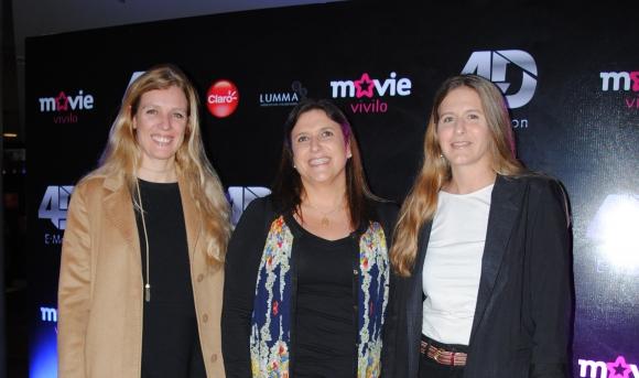 Renata Campomar, María José Scremini, Valentina Artagaveytia.