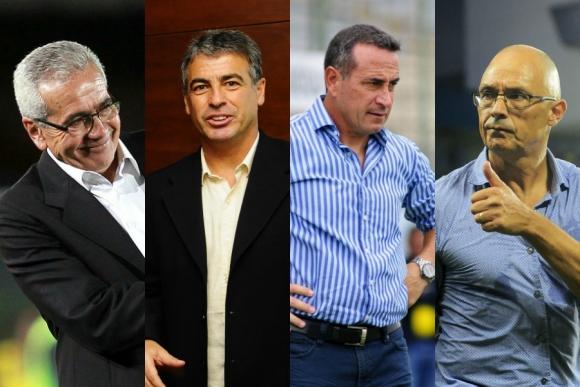 Gregorio Pérez, Pablo Bengoechea, Guillermo Sanguinetti y Alfredo Arias.