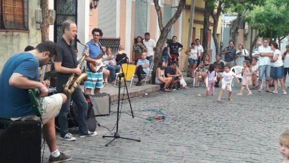 Este enero en Mercedes se celebró la décima edición del festival Jazz a la calle.