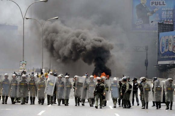 Se trata de la quinta protesta en el mes contra el gobierno de Nicolás Maduro. Foto: Reuters