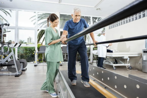 La rehabilitación es fundamental para la recuperación de los pacientes que salen de CTI.