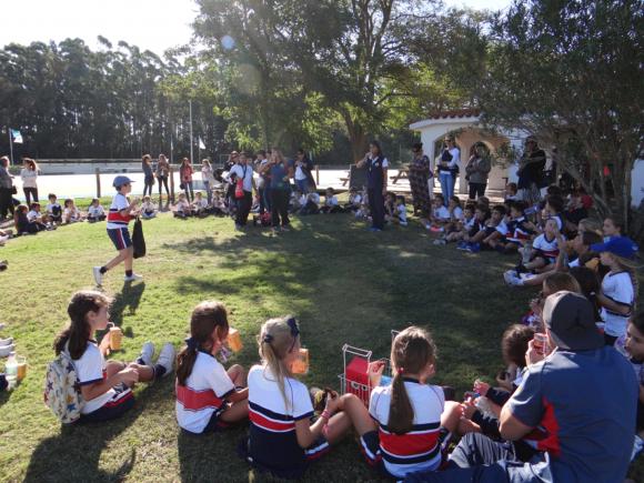 La nueva sede estará ubicada frente a la casa club del campo de deportes del colegio.