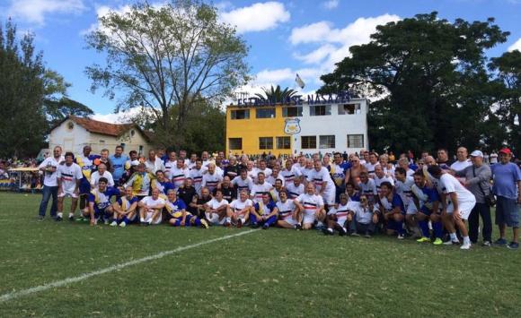 Huracán Buceo y Bella Vista disputaron dos amistosos para marcar su vuelta a la actividad profesional. Foto: Emiliano Esteves