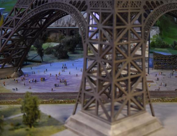Torre Eiffel en Francia. Foto: AFP