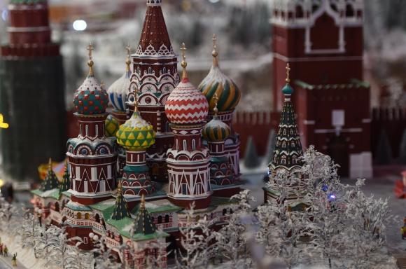 Catedral de San Basilio, Rusia. Foto: AFP