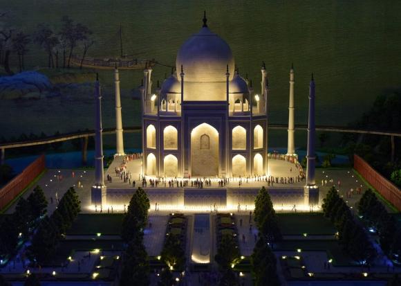 Taj Mahal in Agra en India. Foto: AFP
