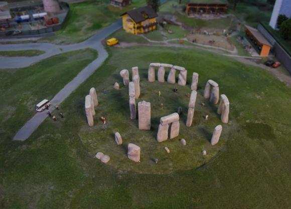 Stonehenge en Inglaterra. Foto: AFP