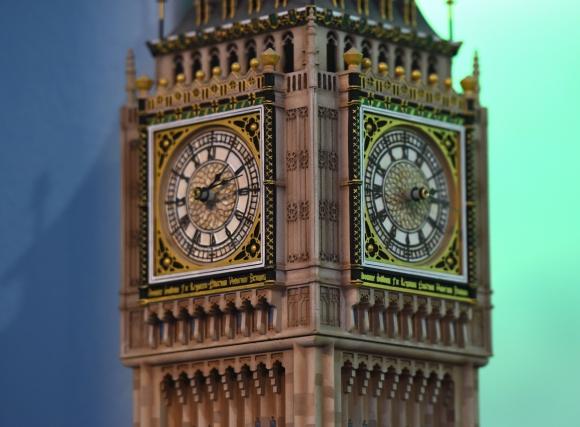Big Ben, Inglaterra. Foto: AFP