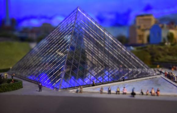 Museo Louvre en Francia. Foto: AFP