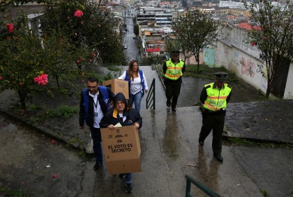 Ecuador: hay 13 millones de habilitados para votar esta semana. Foto: Reuters