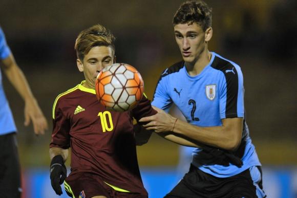 Santiago Bueno formó parte del plantel campeón en Ecuador. Foto: AFP