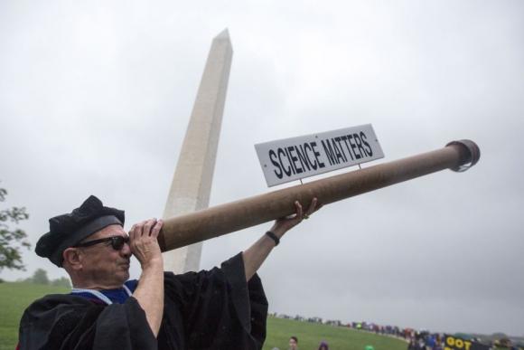 Divertidas caracterizaciones también estuvieron presentes. Foto: AFP