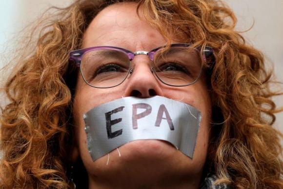 Marcha por la ciencia.  Foto: Reuters