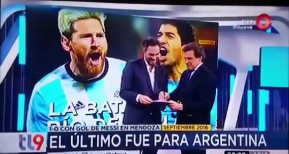 Nicolás Cáceres y Claudio Rígoli (captura tv)