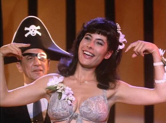 Una actriz que no tuvo una carrera muy prolífica.