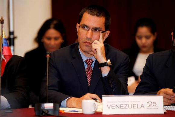 Jorge Arreaza, nuevo canciller venezolano. Foto: EFE