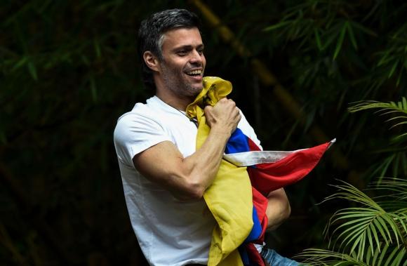 López nació en Caracas en 1971 es economistas graduado en EEUU. Foto: AFP