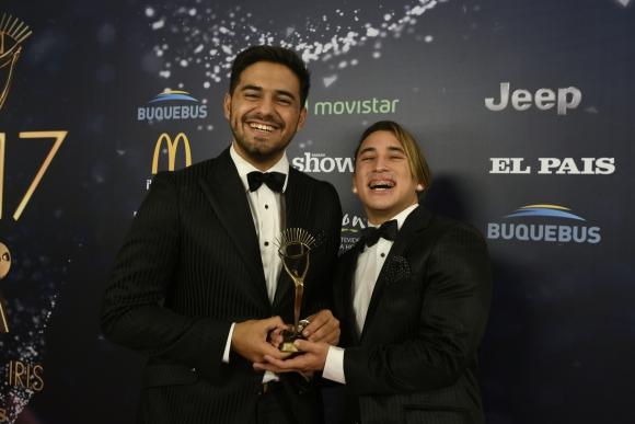 Dos Bros, los ganadores en la categoróa Revelación Web.