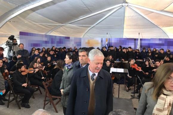 Jorge Basso y Raúl Sendic en el Consejo de Ministros. Foto: Pablo Fernández.