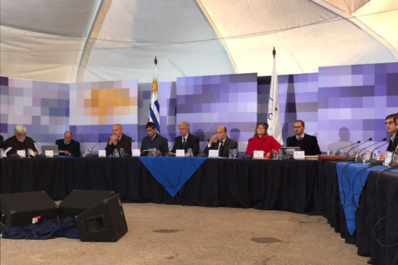 Consejo de Ministros en Montevideo. Foto: Pablo Fernández.