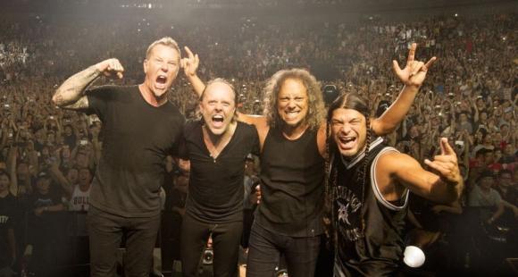 Metallica promete hacer temblar la fiesta de Los Grammy. Foto: Difusión