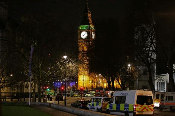 Atentado en Londres dejó varios muertos y heridos. Foto: AFP