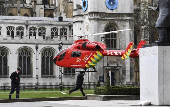Atentado en Londres dejó varios muertos y heridos. Foto: EFE
