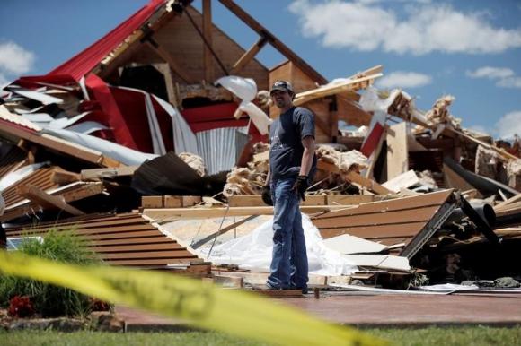 Tornados en Texas dejan al menos 14 muertos. Foto: Reuters