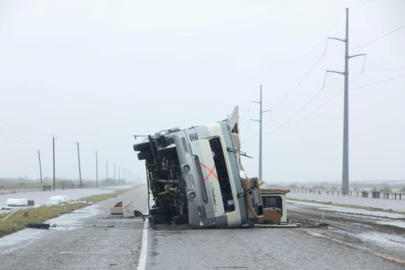 Huracán Harvey. Foto: AFP
