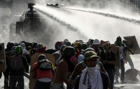 La oposición llamó a marchar hoy en apoyo a la fiscal Ortega. Foto: EFE