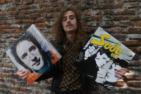 Si bien pertenece a una nueva generación, a Victor Ruiz la música de Soda le llega como si viviera en los 80.
