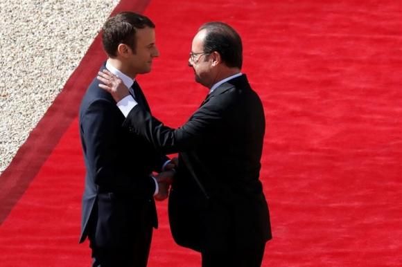 Macron asumió la Presidencia en Francia. Foto. EFE