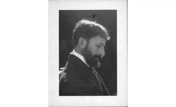 Horacio Quiroga (Foto Archivo General de la Nación, Argentina)