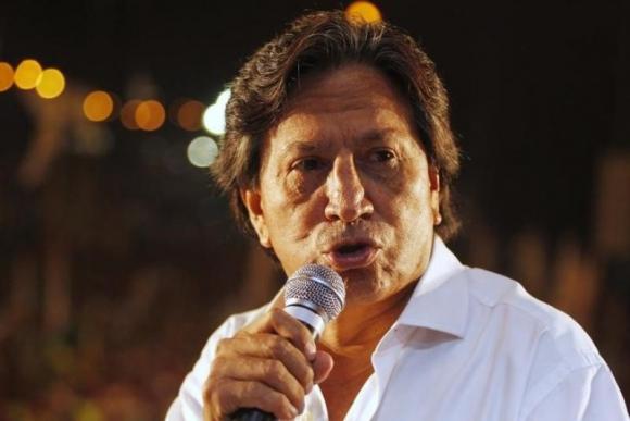 Alejandro Toledo, expresidente de Perú. Foto: Reuters.