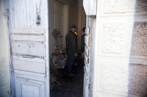 Vivienda: tía y sobrino vivían muy cerca del centro de San José. Foto: F. Ponzetto