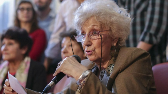 Estela de Carlotto, titular de Abuelas. Foto: La Nación GDA