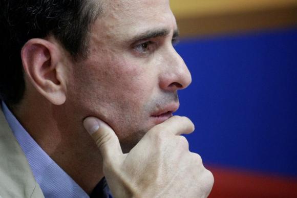 Henrique Capriles. Foto: Reuters