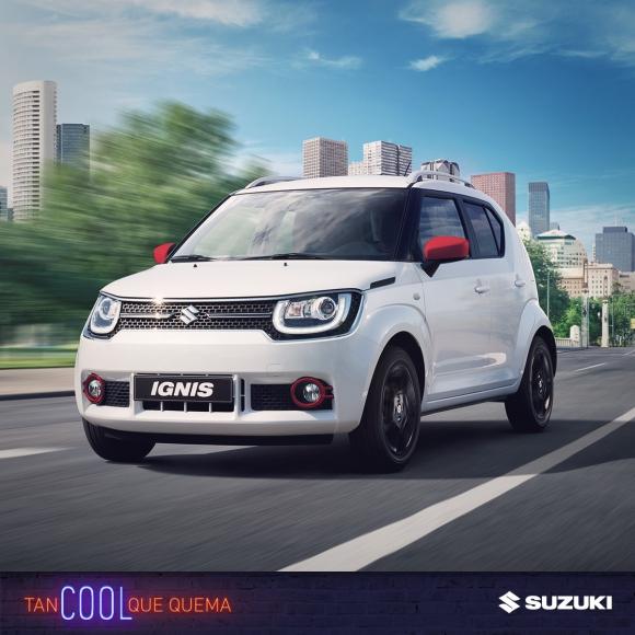 El nuevo Suzuki Ignis, a mitad de camino entre un auto urbano y una SUV.