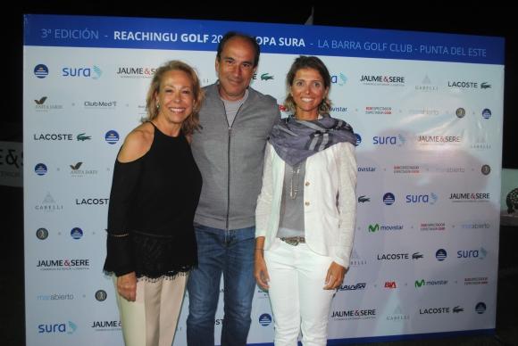 Cristina Weisz, Pablo Haberer, Fernanda Guliak.
