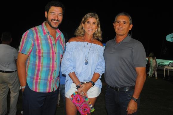 Diego Torres, María Fernanda Iglesias, Gerardo Jover.