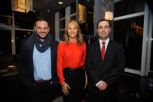 Nicolás Mulles, Verónica Raffo, Hernán Bonilla.