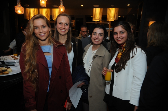 Agustina Carriquiry, Catalina Fietz, Castellar Granados, Lucía Solari.