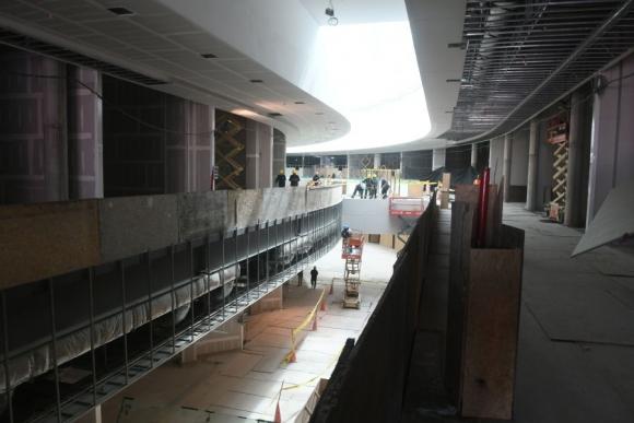 Obras: ocupó a unos 800 operarios en su construcción. Foto: F. Flores