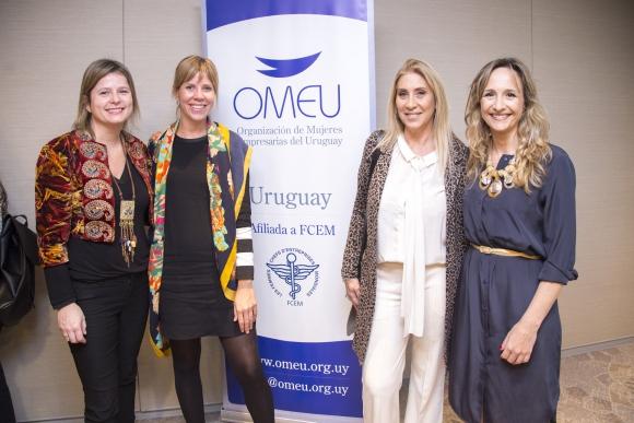 Andrea Bellolio, Ximena Torres, Elena Tejeira, Laura Raffo.