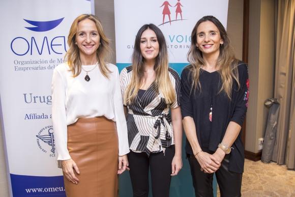 Verónica Raffo, Paula Gallotti, Rosario Terra.