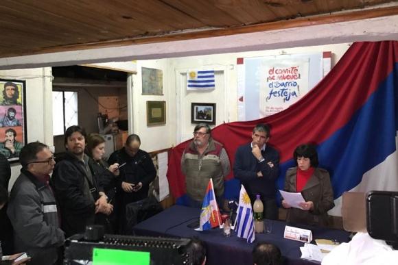 Raúl Sendic en el Día del Comité de base. Foto: Pablo Fernández.