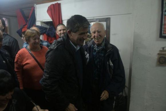 Raúl Sendic en el Día del Comité de base. Foto: Francisco Flores.