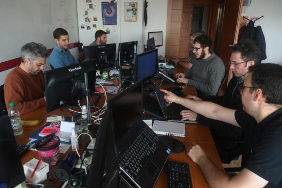 Idatha es una de las 15 empresas locales especializadas en mejorar la herramienta de análisis de datos. Foto: Ariel Colmegna.